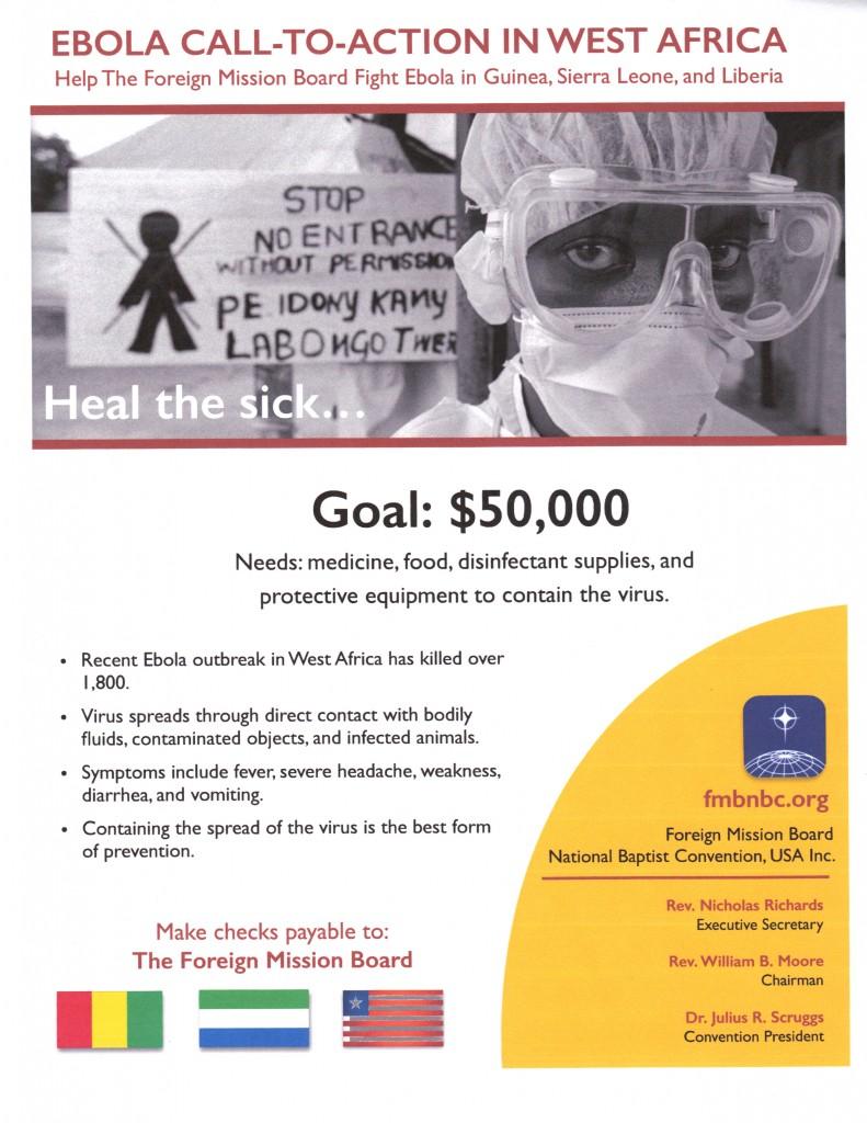 Ebola Fund Raiser