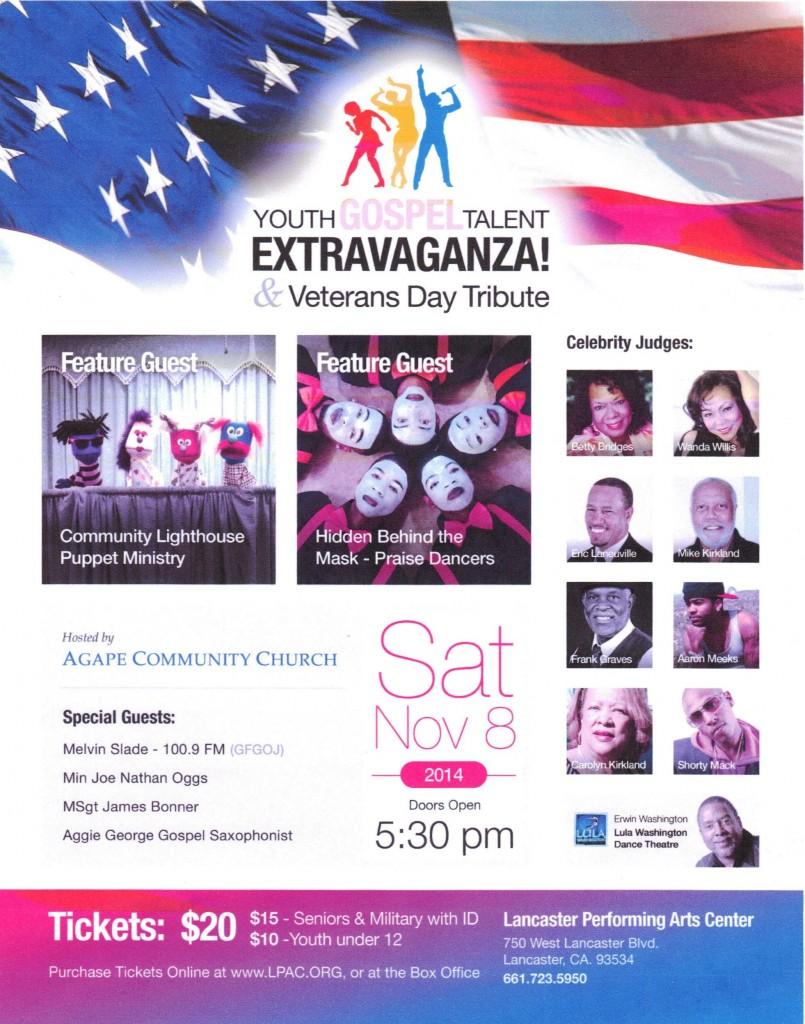 Gospel Talent Extravaganza