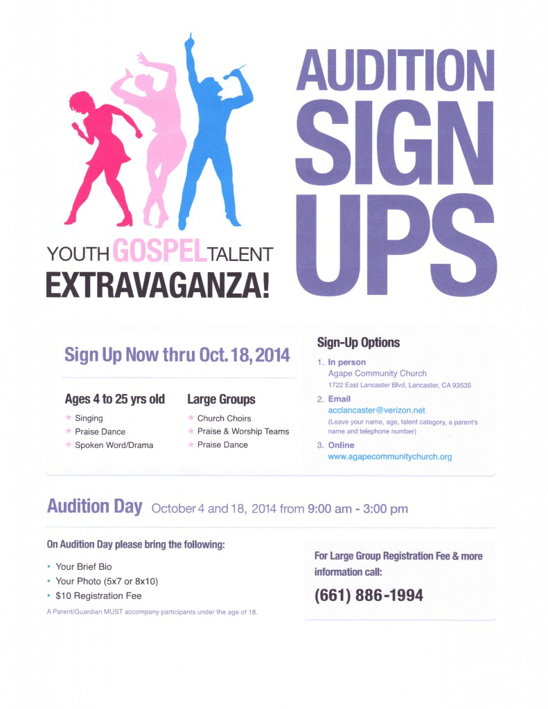 Youth Gospel Talent Extravaganza 2014