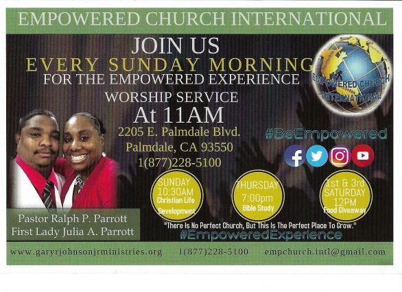 Empowered Church International | Gospel For The Glory Of Jesus